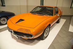 Alfa-Romeo Montreal at Franschhoek Motor Museum, South Africa