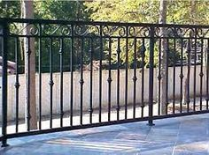 Resultado de imagen para barandales de herreria Stonewall Fence, Juliette Balcony, Security Gates, Wooden Gates, Balcony Railing, Grill Design, Iron Work, Fence Gate, Iron Gates