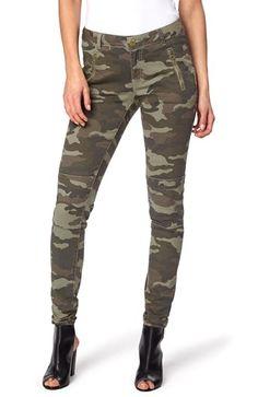 Seje TrulyMine Bukser Ines Kamuflage TrulyMine Underdele til Outlet i fantastisk kvalitet