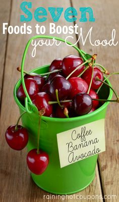 7 Foods That Can Boost Your Mood and WHY they work!!!