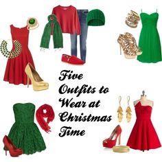 Christmas Outfit Options