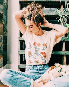 would love me a botanical shirt like this one! tucked in to a nice modest skirt would be so cute!