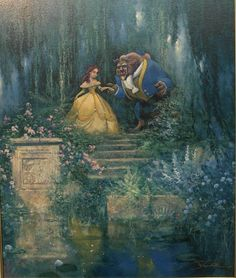 Beauty & the Beast art.