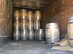 NEW AMERICAN WHITE OAK BARRELS FOR WHISKEY, BEER, WINES, TEQUILA RON