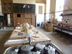 Petworth House kitchen