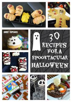 30 Spooktacular Halloween Themed Recipes - In The Kitchen With KP
