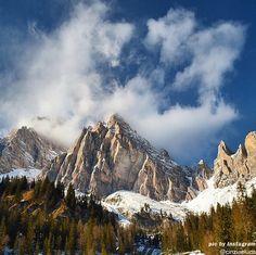 Monte Cristallo, dolomiti del Veneto
