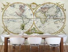 Wallpaper Maps - http://www.decorhomeideas.com/wallpaper-maps/