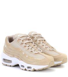 Air Max 95 beige leather sneakers Schuhe Online, Nike Schuhe, Favoriten,  Kleidung, 36dd075cc1