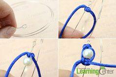 Instruction on making memory wire bracelet designs