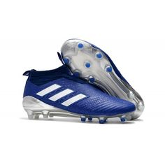 hot sale online 824ac 3629c Adidas High Top Soccer Cleats - Adidas ACE 17+ Purecontrol FG Dragon Dark  Blue White - Soccer Store - Firm Ground - Mens Size39,40,41,42,43,44,45