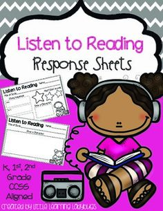 Do your students love listening to reading in your classroom?  My students LOVE listening to audio books daily in my classroom and I love it too because it provides them with an authentic experience to interact with text and listen to a fluent reader daily.