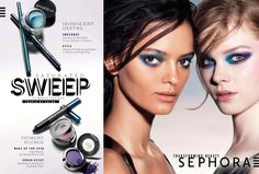 Clean makeup and build up the look. #3 style of makeup in the story    Sephora Advertising