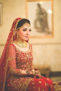 Wedding dresses pakistani sisters pakistan ideas for 2019 Pakistani Bridal Makeup, Pakistani Wedding Dresses, Bridal Lehenga, Indian Dresses, Pakistani Couture, Bridal Looks, Bridal Style, Punjabi Bride, Punjabi Wedding