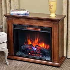 Duraflame Carlisle 1,000 Sq. Ft. Infrared Fireplace Heater in Mahogany - 23IRM1500-M313 Duraflame http://www.amazon.com/dp/B00O2LMK60/ref=cm_sw_r_pi_dp_mrEGub0D5X3Y8