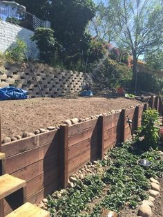 Wood Retaining Wall Help - Building & Construction - DIY Chatroom Home ...