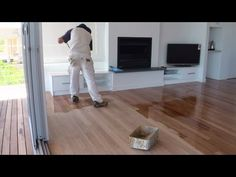 Painted Floors - Cool Tricks to Getting Painted Wood Floors Right - Make you painted wood floors a feature with easy wood floor finishes, paint for floors, milk paint, techniques and paint. Modern Flooring, Grey Flooring, Bedroom Flooring, Plank Flooring, Stone Flooring, Vinyl Flooring, Laminate Flooring, Flooring Ideas, Ceramic Flooring