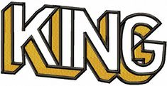 King Machine Embroidery Designs, instantly download