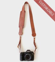 Custom James Leather Camera Strap by/ Fotostrap on Scoutmob Shoppe