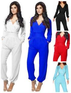 Rompers are really popular right now. Modest style long sleeve pant romper sale