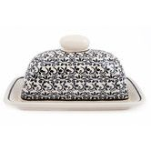 Found it at Wayfair - Elegant Times Single Cube Covered Butter Dish
