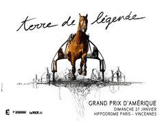 Affiche du Grand Prix d'Amérique 2013