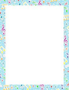 Free Music Borders Clip Art   Grunge Music Frame by x-nerd on ...