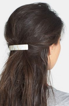 France Luxe France Luxe Rectangle Barrette available at #Nordstrom