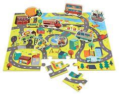 Cena: 79.00zł. Eksresowa wysyłka od ręki. PUZZLE ZESTAW Z 8 FIGURKAMI - W MIEŚCIE amerykańskiej... więcej na www.Tublu.pl  #tublu #tublu_pl #zabawka #zabawki #dla #dzieci #toys #car #puzzle #mudpuppy