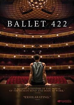 May 26, 2015. Ballet 422 [videorecording(DVD)]. When 25-year-old NYCB dancer Justin Peck begins to emerge as a promising young choreographer, he is commissioned to create a new ballet for the Company's 2013 Winter Season. With unprecedented access to an elite world, the film follows Peck as he collaborates with musicians, lighting designers, costume designers and his fellow dancers to create Paz de la Jolla, NYCB's 422nd new ballet.