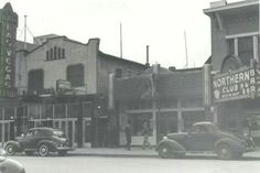 Downtown in the '30s.