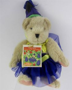 Vanderbear Muffy Waltz of the Vegetables Salad Ballad 1996 NWT retired Ballerina #NorthAmericanBear