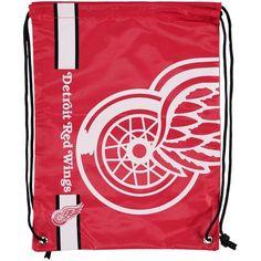 Detroit Red Wings Big Logo Drawstring Backpack - $5.99