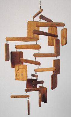 AURARIA wood mobile