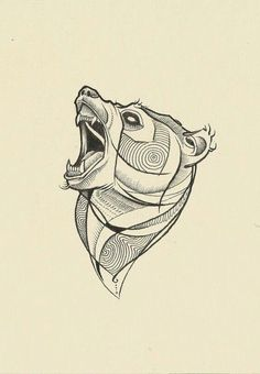 Risultati immagini per bear tattoo sketch Bear Tattoos, Maori Tattoos, Animal Tattoos, Body Art Tattoos, Cool Tattoos, Ship Tattoos, Ankle Tattoos, Arrow Tattoos, Small Tattoos