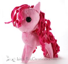 Plush Pony  My Little Pony Inspired by LittleFoxCreationsWA