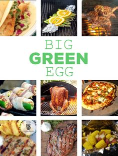 Here are 10 Big Green Egg recipes ideas to get your springtime grilling ideas going. From meat to veggies to pizza we've got you covered!