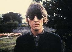 George Harrison ~ Paperback Writer/Rain photo shoot May 1966 at Chiswick House in London