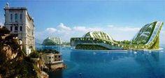 Vincent Callebaut. Para 30.000 personas. Ecopolis. Proyecto para 2015.