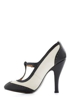 ModCloth, gorgeous shoe - could never walk in these but two toned <3