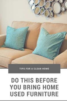 Used furniture is home to bacteria, sweat, pet urine, and other strange spills and smells. Do you really want to bring all of that into your home? Upholstery Cleaning, Furniture Cleaning, How To Clean Furniture, Furniture Upholstery, Pet Urine, How To Clean Carpet, Cleaning Hacks, Bring It On, Posts
