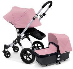 Bugaboo Cameleon 3 Stroller, Extendable Canopy 2015 All Black / Soft Pink Bugaboo Cameleon 3, Bugaboo Stroller, Jogging Stroller, Double Strollers, Baby Strollers, Best Lightweight Stroller, Vogue, Travel System, Baby Gear