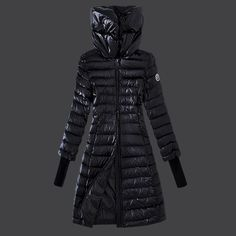 Cheap Moncler Down Coats Women Discount Style In Black BL30323 UK