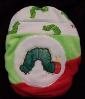 CGR Design Minky All-in-2 - Very Hungry Caterpillar. #MCN cloth nappies