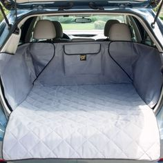 Frontpet Quilted Dog Cargo Cover for SUV Universal Fit for Any Animal. Durable Liner Covers and Protects Your Vehichle