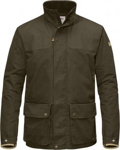 Windproof and waterproof jacket in hardwearing, rustle-free G-1000 Silent Eco with Hydratic that keeps you comfortably dry in changeable weather. Lightly padded with high-performance synthetic G-Loft Supreme Compact for extra warmth on cold days. A simple