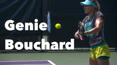 Tennis sensation and WTA rank #7 Eugenie Bouchard training at the Miami Open 2015. Great footwork on every shot (forehand & backhand) and always hitting the ball on the rise.   Great example to follow!  Send us your comments, we love to hear from you .  Thanks to take the time to SUBSCRIBE FOR FREE to our Youtube Channel, more of these videos to come each week.