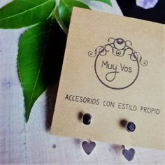 Ideas Geniales, Place Cards, Presentation, Packaging, Place Card Holders, Display, Beads, Gold, Stud Earrings