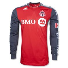 Toronto FC 2012 Long Sleeve Home Authentic Soccer Jersey