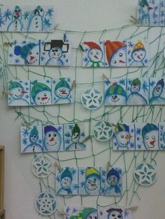 Winter Art, Art Lesson Plans, Elementary Art, Op Art, Christmas Art, Art Lessons, Diy And Crafts, Projects, Winter